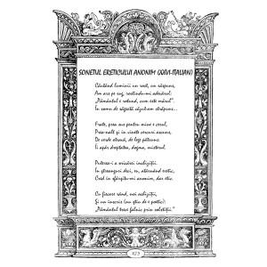 Lucian Strochi - Sonetul ereticului anonim
