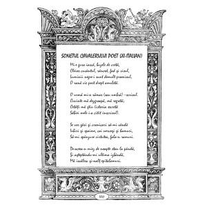 Lucian Strochi - Sonetul cavalerului poet