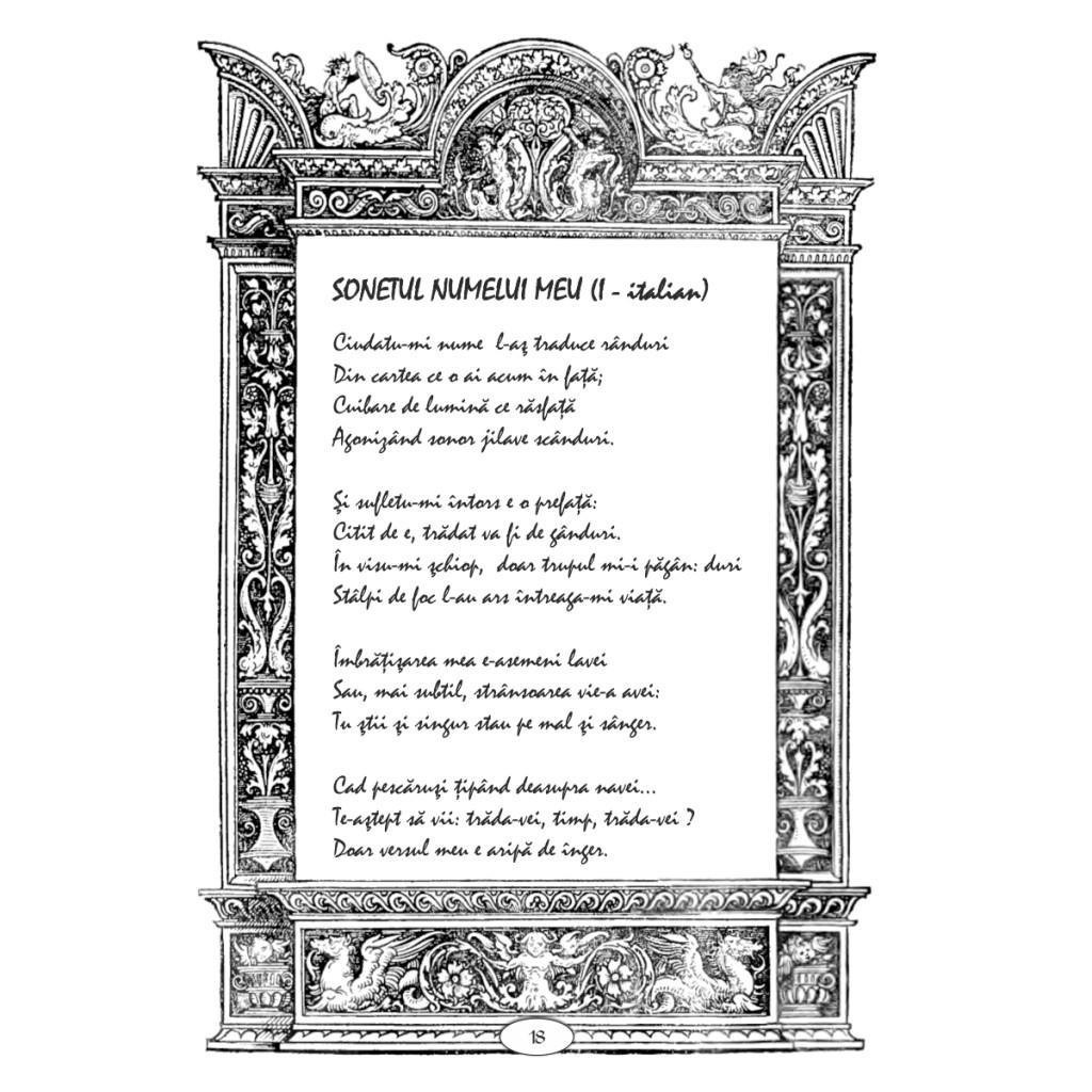 Lucian Strochi - Sonetul numelui meu
