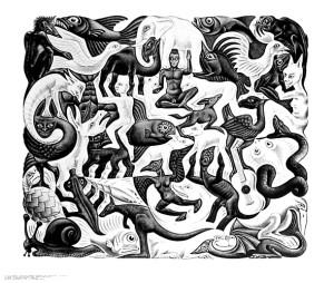 Maurits-Cornelis-Escher-Mosaic-II-1957