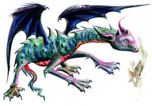 Lucian-Strochi-Dragonul-ilustratie-de-George-Romila