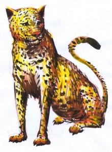Lucian-Strochi-Jaguarul-ilustratie-de-George-Romila