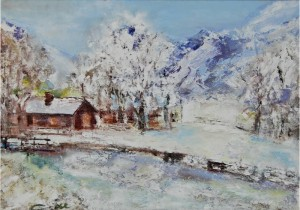 Viorica Ciucanu - Piesaj de iarna