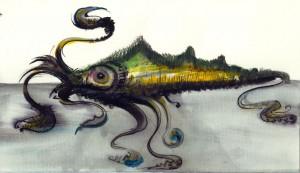 Lucian-Strochi-Krakenul-ilustratie-de-George-Romila