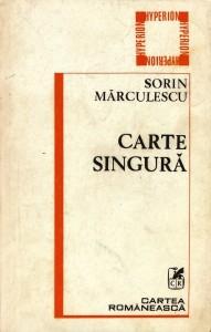 SORIN-MARCULESCU-CARTE-SINGURA