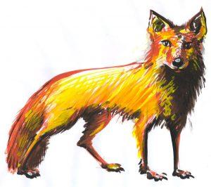 VULPEA - ilustratie de George Romila