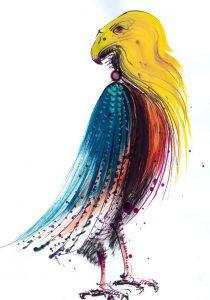 YRUSTA - ilustratie de George Romila